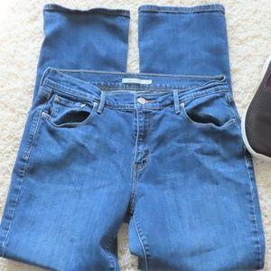 505 Levi's Straight Leg Jeans 12M